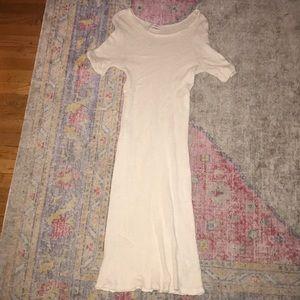 Audrey 3+1 long knit dress